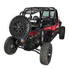 Tusk Rear Bumper Cargo Rack POLARIS RZR XP 1000 - Turbo - XP 4  Spare Tire Mount