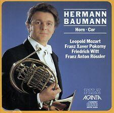 HERMANN BAUMANN : HORN - COR, MOZART - POKORNY - WITT - RÖSSLER / CD