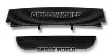For 01-03 Ford Ranger XLT/XL 2WD Black Billet Premium Grille Combo Insert