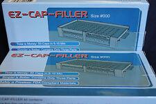 "50 holes EZ-CAP-FILLER capsule filler machine size ""000"" Complete System"