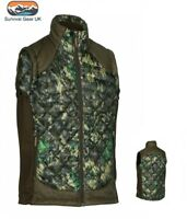 Deerhunter Platinum Thinsulate Cumberland Quilted Gilet Waistcoat IN-EQ Camo