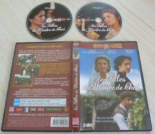 RARE 2 DVD PAL MEMOIRE DE LA TELEVISION LES FILLES DU MAITRE CHAI 3 EPISODES