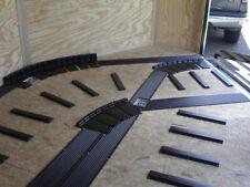 Caliber 13343 High Profile Flex Glides Track Kit 8 PC Kit Turn sled off Trailer
