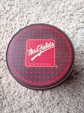 Decorative Vintage MRS. FIELDS Cookies Tin Collectible Box Container Vintage