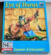 Eye of Horus , Amiga Spiel  :Commodore/AMIGA/OVP/ Boxed