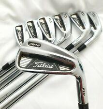 TTitleist 710 AP2 Forged Irons 4-PW Stiff Flex Dynamic Gold S300 Shafts