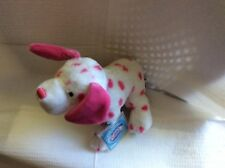 WEBKINZ PINK DALMATION + PACK OF WEBKINZ TRADING CARDS - NEW W/ SEALED CODE