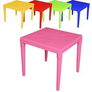 Kids Children Plastic Foldable Table Suitable Indoor & Outdoor