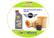 Kit TAGLIANDO Olio e filtri per MINI COOPER(R50)1.6 BENZINA 85KW/116CV DAL 2001