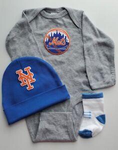 NY Mets baby/newborn clothes Mets baby/newborn Mets baseball baby gift