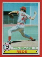 1979 Topps #100 Tom Seaver NEAR MINT+ Cincinnati Reds HOF New York Mets FREE S/H