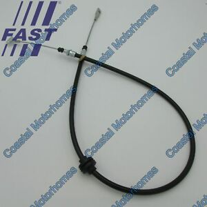 Fits Iveco Daily IV-V-VI Rear Hand Brake Cable For Discs 1280/965mm (2006-On)