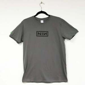 Nine Inch Nails NIN Logo T-Shirt Goth Industrial Metal Rock 90s Trent Reznor