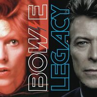 BOWIE - LEGACY THE VERY BEST OF DAVID BOWIE DOUBLE VINYL LP Released 6TH JAN