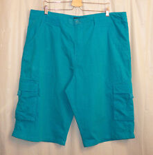 Rocawear Cargo Shorts Men's 40 Blue Urban Streetwear