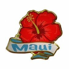KC Hawaii Lapel Hat Pin Hibiscus Maui