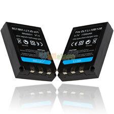 2*Battery For Olympus Li-10B Li-12B Stylus 300 400 500