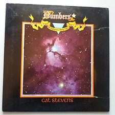 Cat Stevens - Numbers Vinyl LP UK 1st + Inner + Booklet - Diecut A1/B1 EX+/EX+