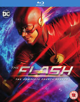 The Flash: The Complete Fourth Season Blu-Ray (2018) Grant Gustin cert 12 4
