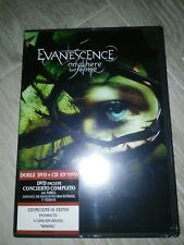 EVANESCENCE EVERYWHERE BUT HOME CD Y DVD
