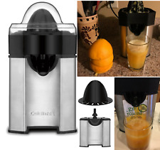 Electric Citrus Juicer Orange Press Extractor Fruit Juice Machine Squeezer Black
