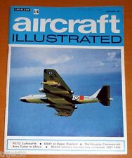 Aircraft Illustrated 1971 January Upper Heyford USAFE,Douglas,Avro Tudor