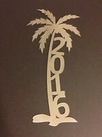 Palm Tree Custom Personalized Metal Art Name Address Sign
