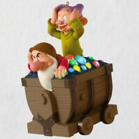 Disney Snow White and the Seven Dwarfs Off We Go! 2018 Hallmark Ornament
