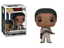 FUNKO POP! TELEVISION: STRANGER THINGS -GHOSTBUSTER LUCAS 548 21485 VINYL FIGURE