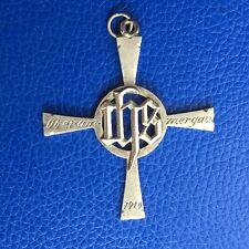 Antique Silver 800 Oberammergau Cross 1910