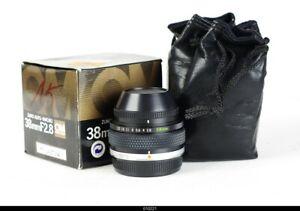 Lens OLYMPUS OM-SYSTEM ZUIKO AUTO MACRO 38mm F2.8   Mint Box