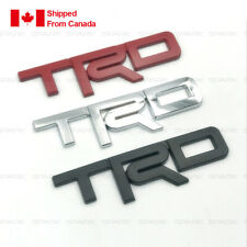 TRD  Metal Emblem Car Bumper Trunk Fender Decal Logo Badge.For Toyota etc