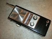 VINTAGE RAY JEFFERSON MARINE MOBILE 5 WATT 3 CHANNEL CB-505 RADIO ASIS UNTESTED