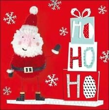 Pack of 5 Ho Ho Ho Action For Children Charity Christmas Cards Xmas Card Packs