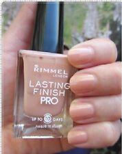 RIMMEL Lasting Finish Pro Nail Polish Nagellack (200 Bare Naked) NEU&OVP