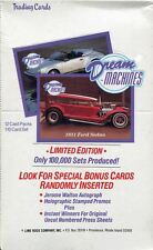 Dream Machines Factory Sealed Hobby Box 36 Packs