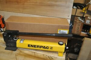 Enerpac P391 Hand Pump, 1 Speed, 10, 000 psi, 55 cu in NEW