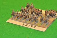 15mm colonial / british - boer war / Sudan mtd & dismounted 22 figs - cav(48748)