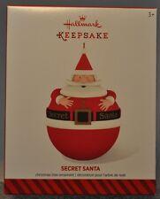 Hallmark - Secret Santa - - Hide Something Inside - 2014 Keepsake Ornament