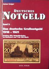 Deutsches Notgeld: Großnotgeld 1918-1921 Germany noodgeld Allemagne Germania