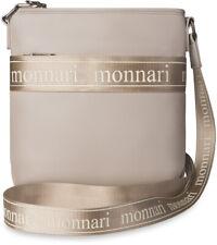 Monnari Damentasche Beuteltasche Damen Handtasche Schultertasche beige