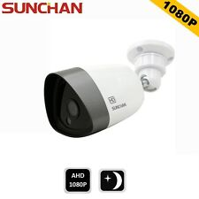 SUNCHAN 1080P AHD 2.0MP Indoor Outdoor Bullet Security CCTV Camera Night Vision