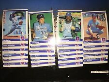 1984 Fleer Team Set:  Atlanta Braves (24 Cards:  #170-#193)