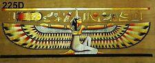 "Egyptian Egipto Ägypten, Pharaonic,Papyrus Paint size N 40x100 cm.(16""x40""),ISIS"