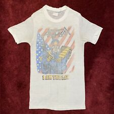 New listing Vintage 1987 Anthrax I Am The Law T-Shirt 80s Thrash Xs Concert Tour Rare 1980s