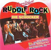 (CD) Rudolf Rock & Die Schocker - Herzlichst -Volle Pulle, Motorbiene, Sexy Hexy