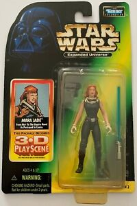 Star Wars - Expanded Universe - Mara Jade - with 3D Play Scene - 1998 - Unopened