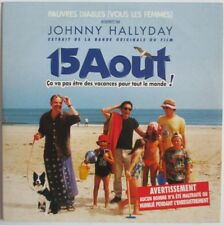 "JOHNNY HALLYDAY - CD SINGLE PROMO ""PAUVRES DIABLES"""