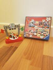Fisher Price Imaginext DISNEY Francesco Bernoulli Playset & CARS 2 Jigsaw Bundle