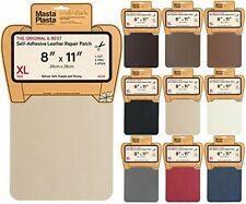 MastaPlasta, Leather Repair Patch, Firstaid for Sofas Car Seats (Beige)